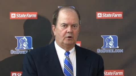 Head coach David Cutcliffe names the week's captains.