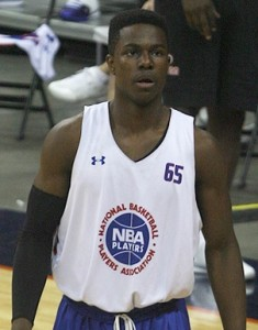 Semi Ojeleye was named Parade Magazine's Boy Basketball Player of the Year. (Photo Credit: Andrew Beaton/Chronicle File Photo)