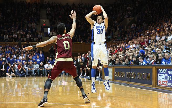 Seth Curry Duke Basketball