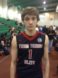 2015 recruit Austin Grandstaff at the Nike EYBL in Hampton, Va. (Photo Credit: Brady Buck/The Chronicle)