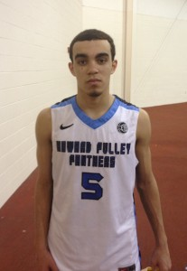 Top-ranked point guard Tyus Jones at the Nike EYBL in Hampton, Va. (Photo Credit: Brady Buck/The Chronicle)