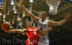Plumlee's 21 points and 17 rebounds helped Duke complete it's comeback against No. 4 Ohio State.